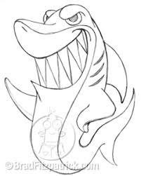 cartoon pictures of sharks