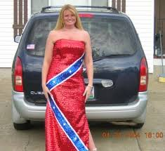 rebel flag wedding dresses