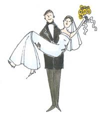 funny wedding cartoon