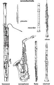 orchestra woodwind instruments