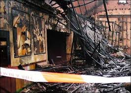 fire damage pictures