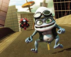 crazy frog pictures