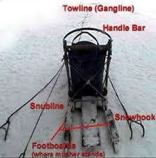 dog sled parts