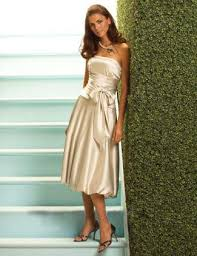 modern bridesmaid dress