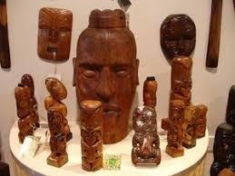 maori wood carvings