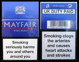 cigaret packets