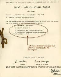 gcse certificate