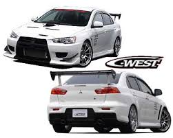 mitsubishi evo x body kits