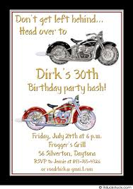 motorcycle party