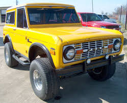 1970s ford bronco