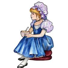 little miss muffet picture