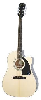 epiphone aj 100ce acoustic electric guitar