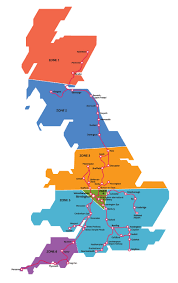train route map uk