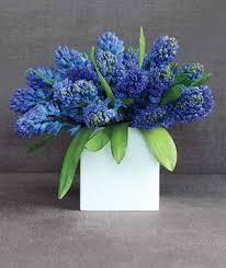 square flower vase