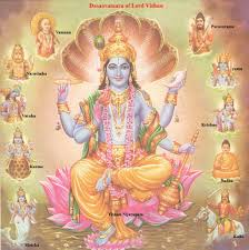 10 incarnations of vishnu