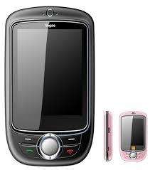 orange touch screen phone