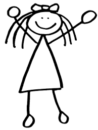girl stick figure picture