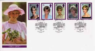 princess diana stamp