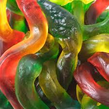 giant gummy snakes