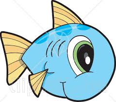 cute fish clip art