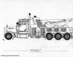 big truck drawings