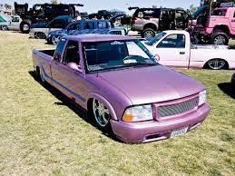 pink chevy trucks