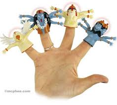 fingers puppets