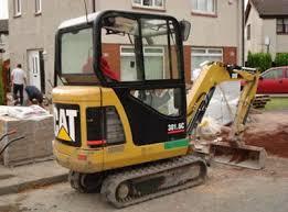 caterpillar mini excavators