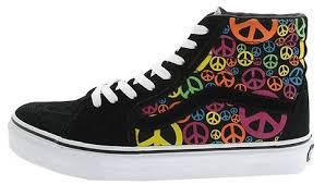 peace sign converse shoes