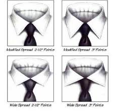 types of shirt collars