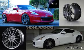 nissan 370z wheels
