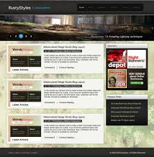 good web layout