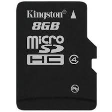 kingston 8 gb sd