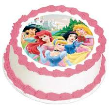 disney princess party cake