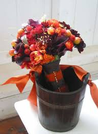 fall flowers for weddings