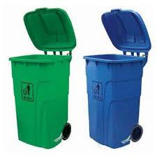 plastic recycle container