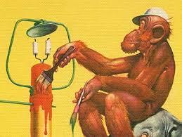 monkey painter