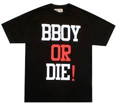 b boy shirt
