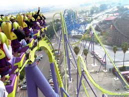 6 flags roller coasters