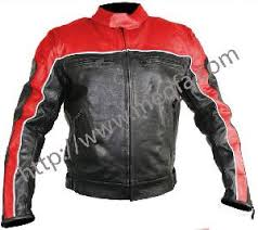 leather jackets bike