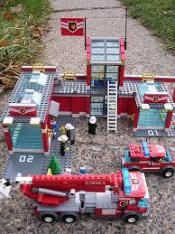 lego fire house