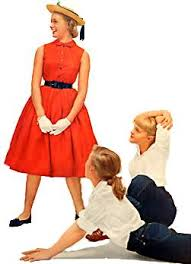 clothes in the 50s
