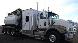 hydro vac truck