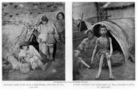 famines in china