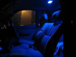 blue dome light