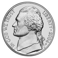 nickel jefferson