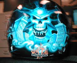 helmet paint job
