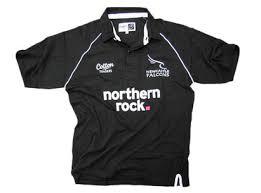newcastle falcons shirts