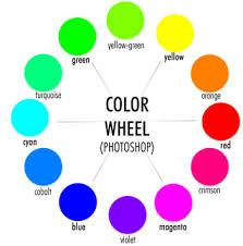 color wheel of light