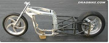 drag bike frames